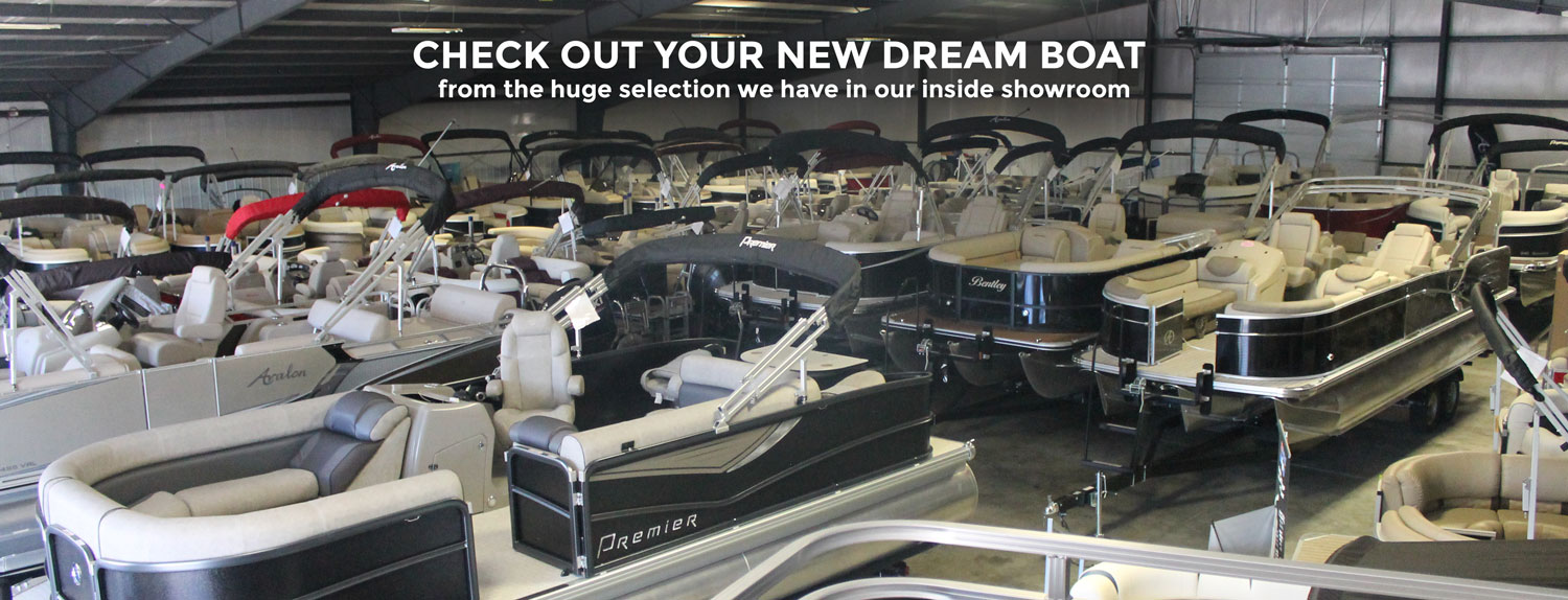 Premier Pontoons with Suzuki Outboards at L&S